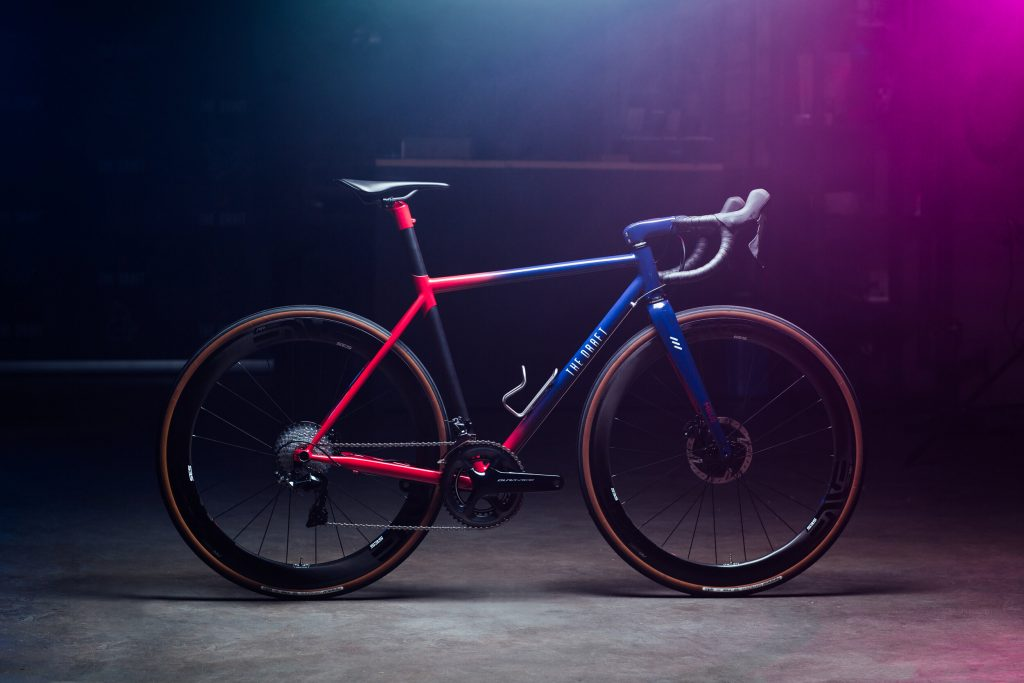 The Draft Hypatia with Enve SES carbon wheels