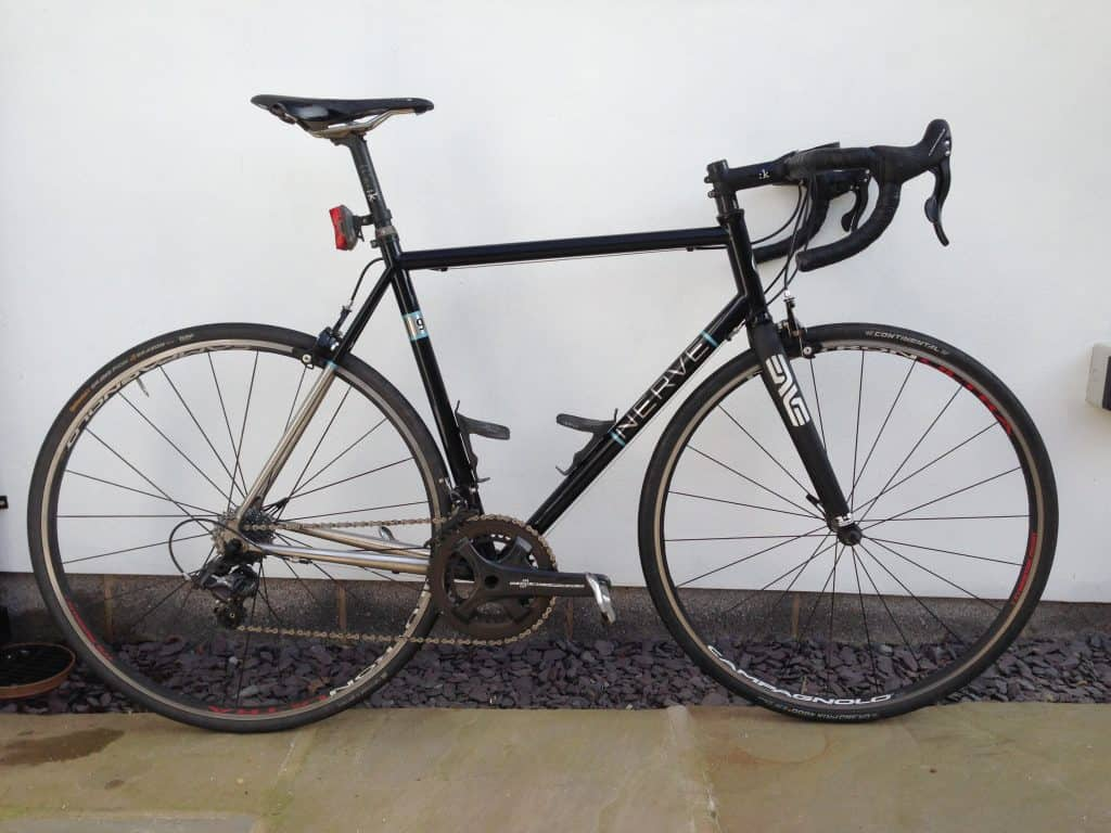Bike built with current wheelset
