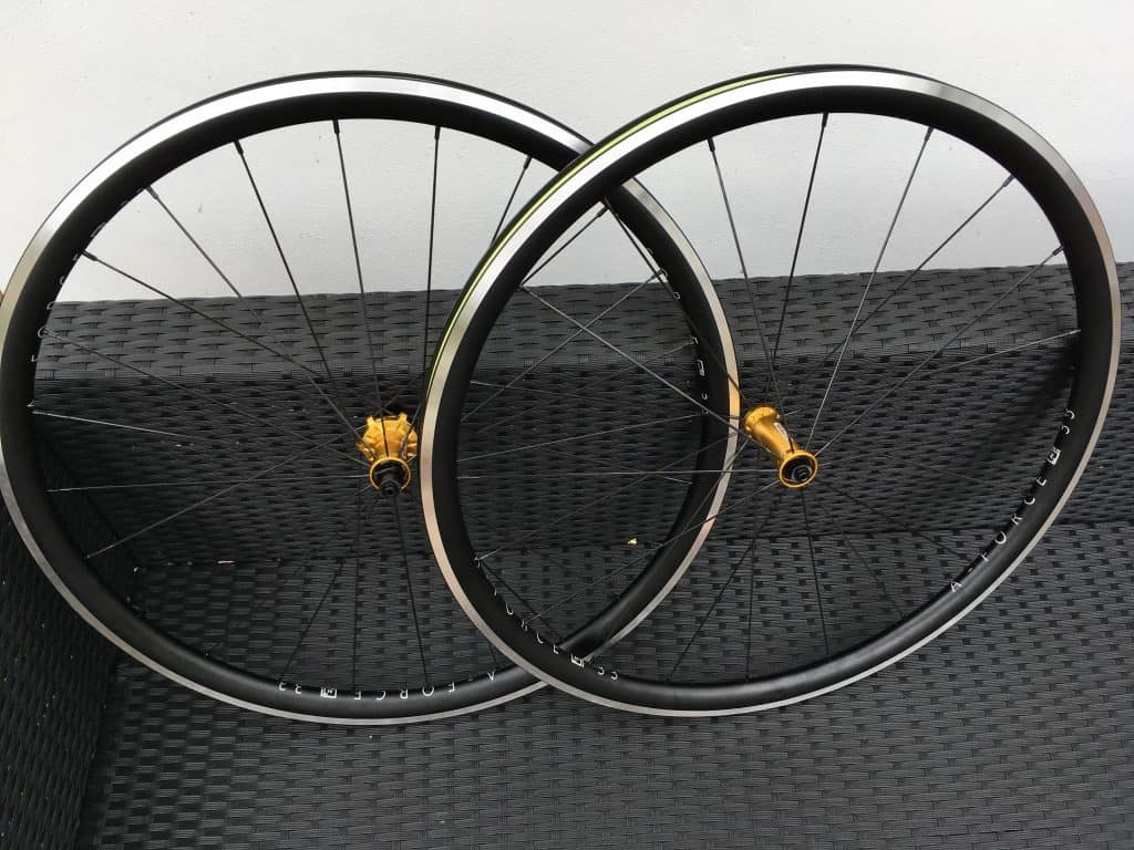 DCR Wheels handbuilt wheelset