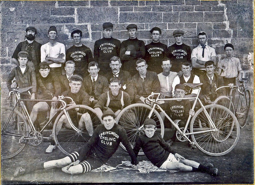 Springwood cycling club back in the day